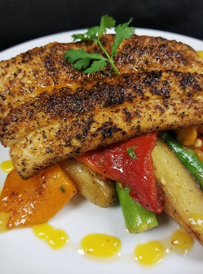 We recommend you order #Mahi Mahi from us on line and then blackening it! free 24 hour delivery in the USA. http://www.floridaseafood.com/mahi-mahi-starting-with-3-5-lbs/