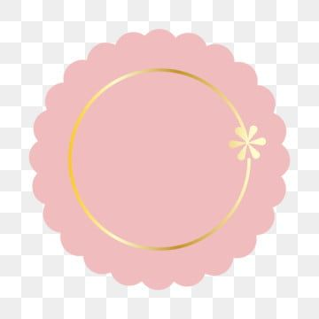 Pink Cute Frame Clipart Png Vector Element Pink Frame Pink Frame Png And Vector With Transparent Background For Free Download Cute Frames Frame Clipart Pink Posters