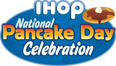 February 28th is National Pancake Day.   You can visit participating IHOP locations and celebrate with a complimentary short stack of Buttermilk pancakes while supplies last!  Although the pancakes are FREE, they do ask that you consider making a donation to the Children's Miracle Network Hospitals in return.