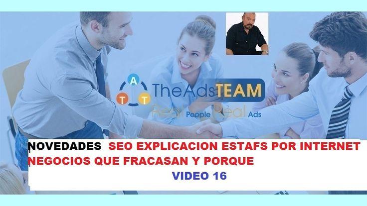 THEADSTEAM 16 NOVEDADES ESTAFAS DE INTERNET SEO CON JORGEIVAN FRANCO THE...