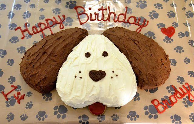 Dog Cake For Girls Birthday
