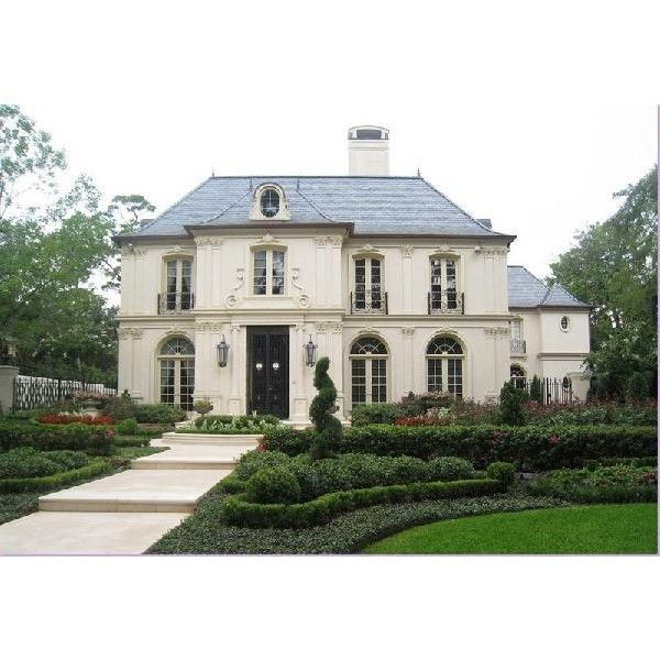 Home Exteriors   French Chateau French Home Exterior Found On Polyvore  Great Use Of Building Materials