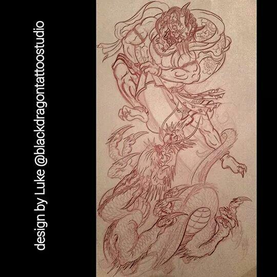 Fujin & dragon