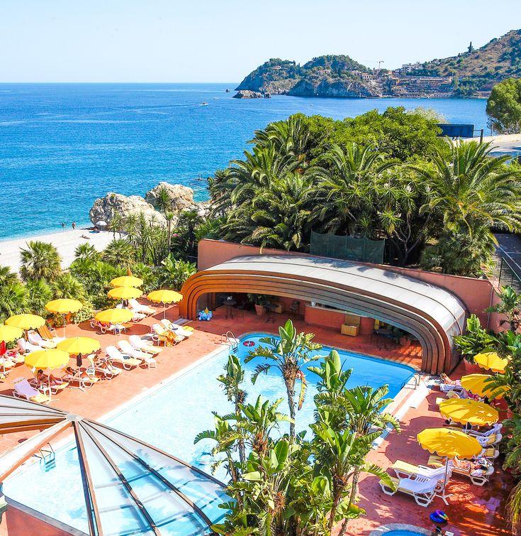 italien urlaub in italien caparena hotel pool mit. Black Bedroom Furniture Sets. Home Design Ideas