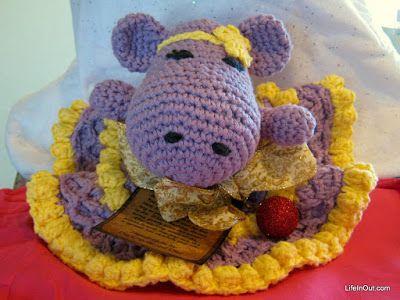 Got Mom a Crocheted Hippopotamus for Christmas 2015 - LifeInOut.com