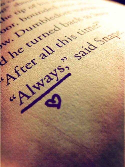 """""""Always"""", said Sanpe. Oh Gott, ich bekomme jedesmal eine Gänsehaut bei diesem Zitat, es ist einfach eines der schönsten die ich kenne^^"""