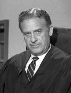 Frank Wilcox, actor who played in many episodes of The Perry Mason Show as a judge.