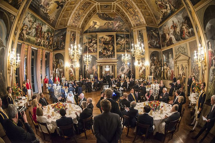First day of NSS dinner with the King and Queen - Made possible by www.iCraiova.com
