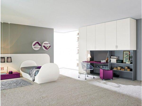 Start 24 bedroom set with bridge wardrobe
