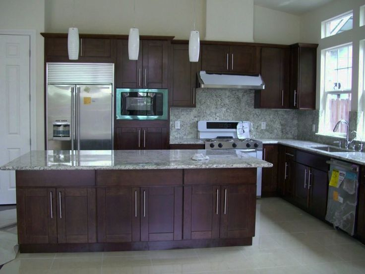 13 best Espresso Colored Kitchen Cabinets images on Pinterest ...