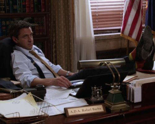 ADA Rafael Barba please tell me to close the door and shut the blinds.