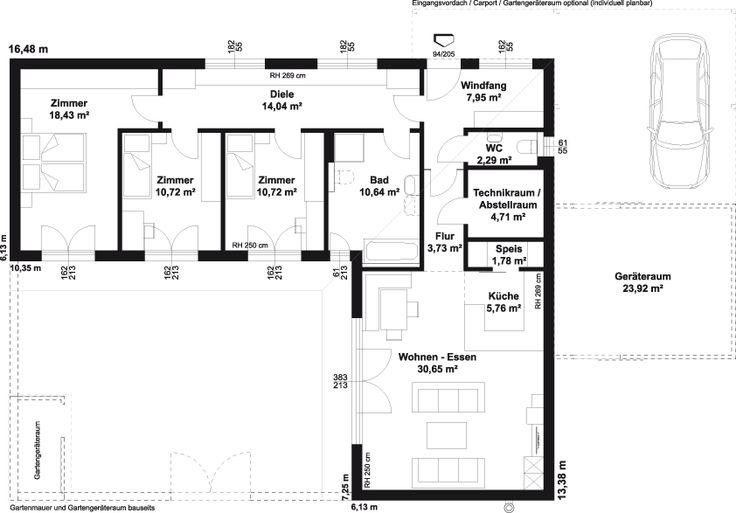 Haustyp u201eAvantgarde 121 Pu201c - HARTL HAUS Lets build a house - plan 3 k che