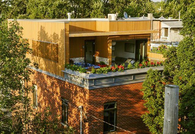 penthouse des résidences Mentana