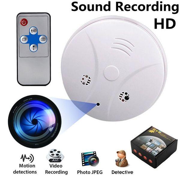 HD SPY Hidden Camera Smoke Detector Motion Nanny Camera Recorder DVR Camcorder