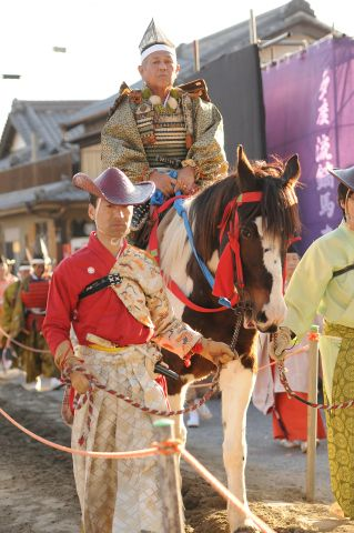 Yabusame festival at Tado Shrine, in far northern Mie Prefecture.
