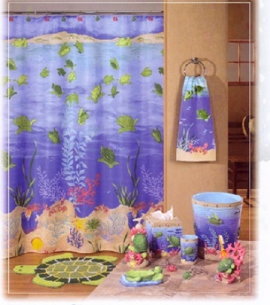 Fabric Shower Curtains Bing Images Turtle Bay Shower Curtain Accessories