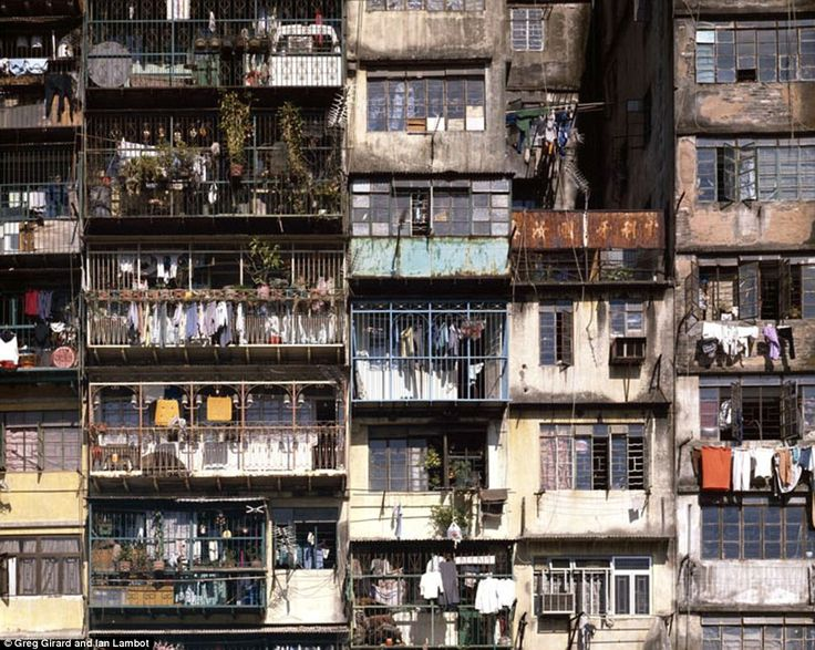 Canadian photographer Greg Girard and Ian Lambot spent five years getting to know the residents and taking pictures of the densely populated buildings