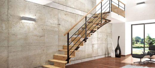 Gamme Prestige : votre escalier haut de gamme avec FLIN