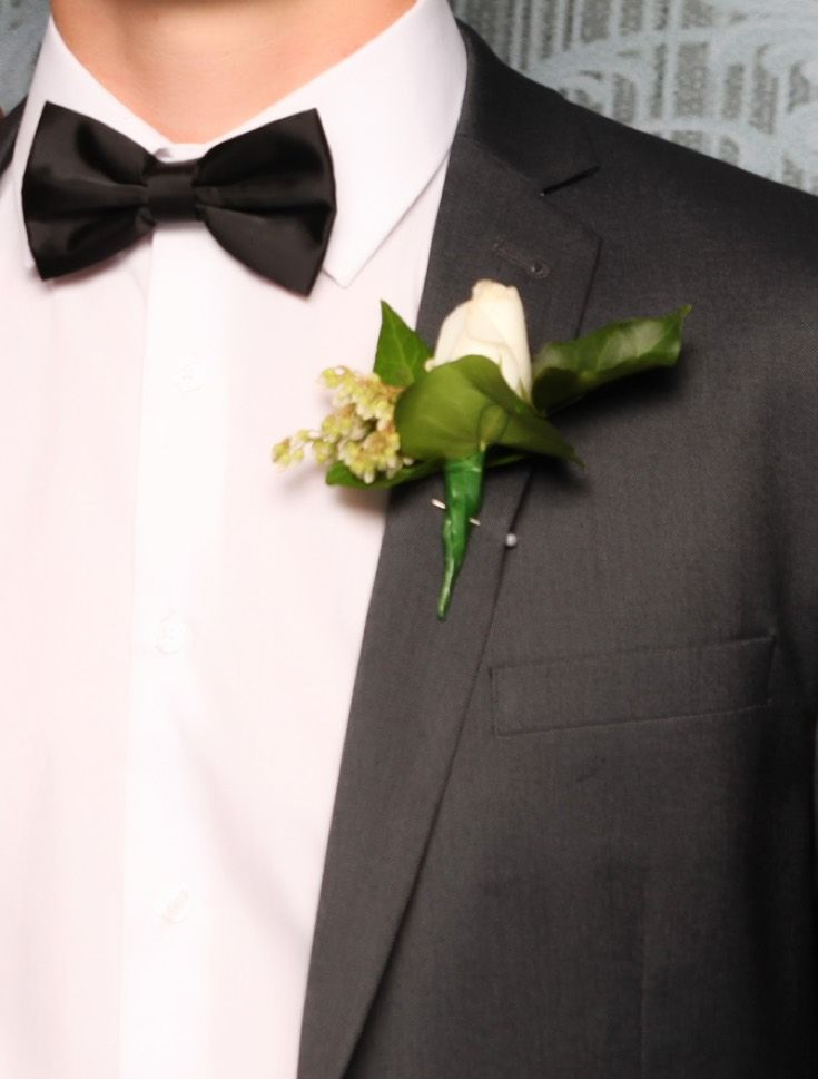 Whangaparaoa Ball 2015. Love the grey suit! www.whitedoor.co.nz