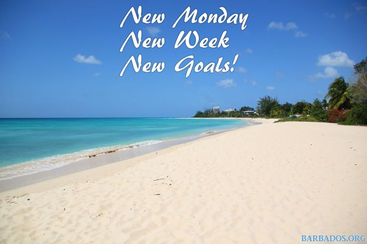 Some Monday Motivation From Barbados! Have A Great Week