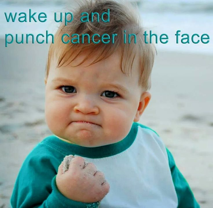 Ovarian Cancer Awareness ~ Wake up and punch Cancer in the face