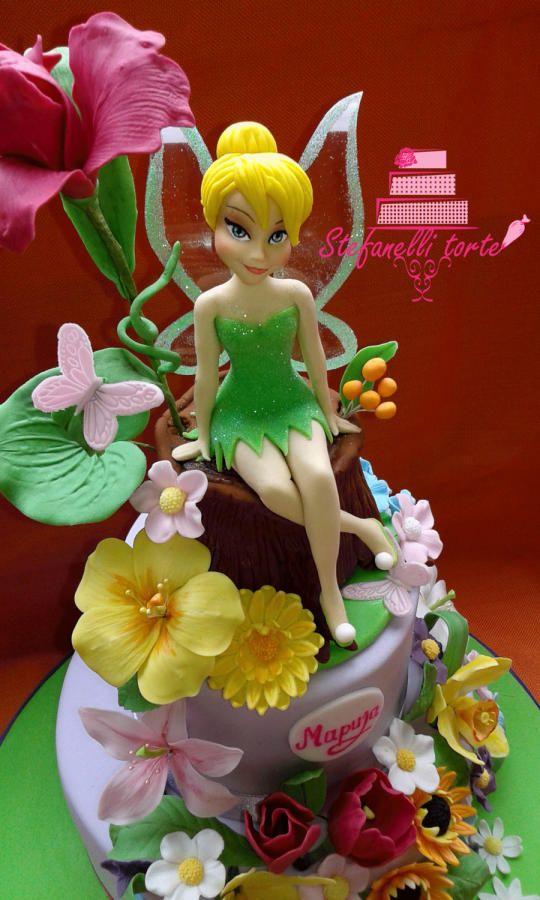 Tinkerbell cake - Cake by stefanelli torte