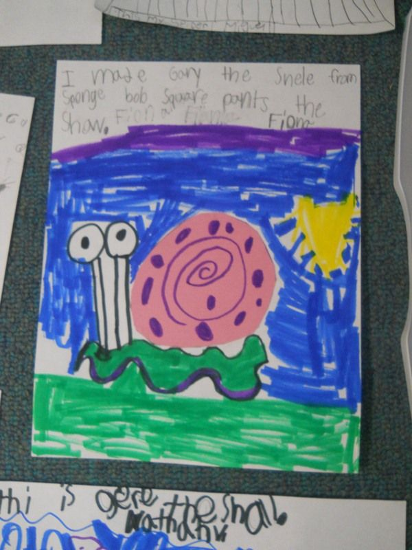"Mrs. Johnson's First Grade: Creative Writing with ""The Dot"" by Peter Reynolds"