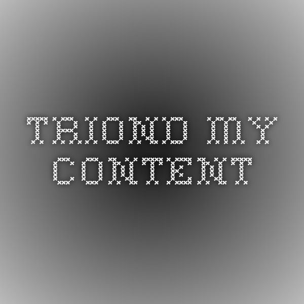 Triond - My Content
