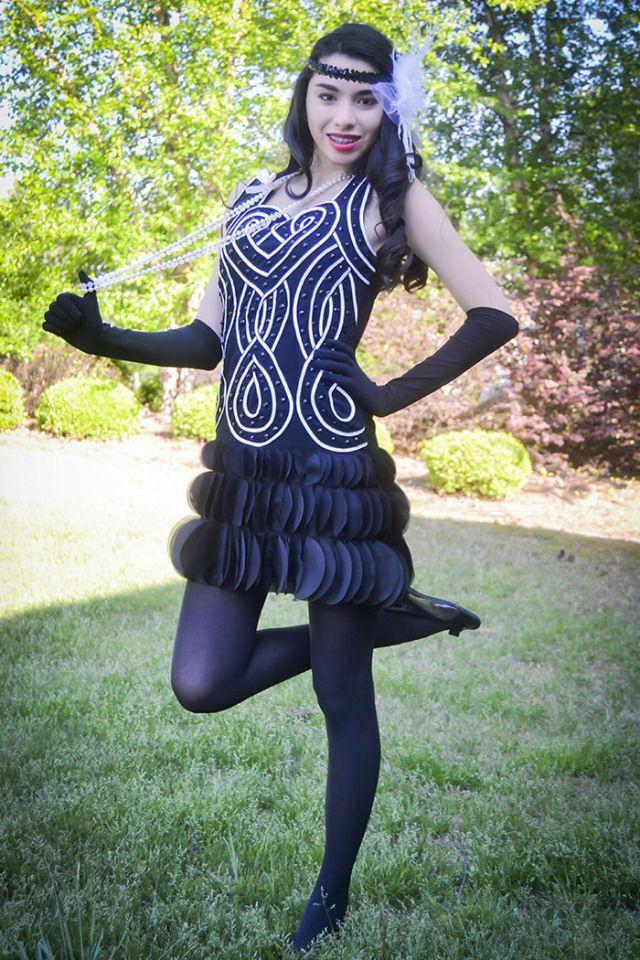 Thoroughly Modern Millie flapper costume teen fashion blog cardigansandnecklaces.com