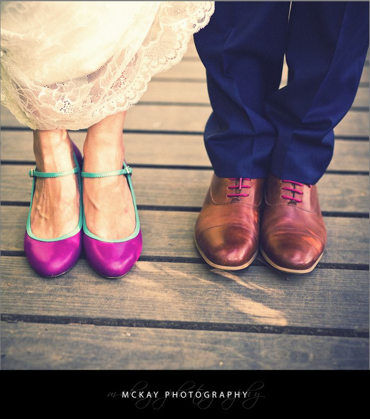 Bride and groom wedding shoes - by McKay Photography