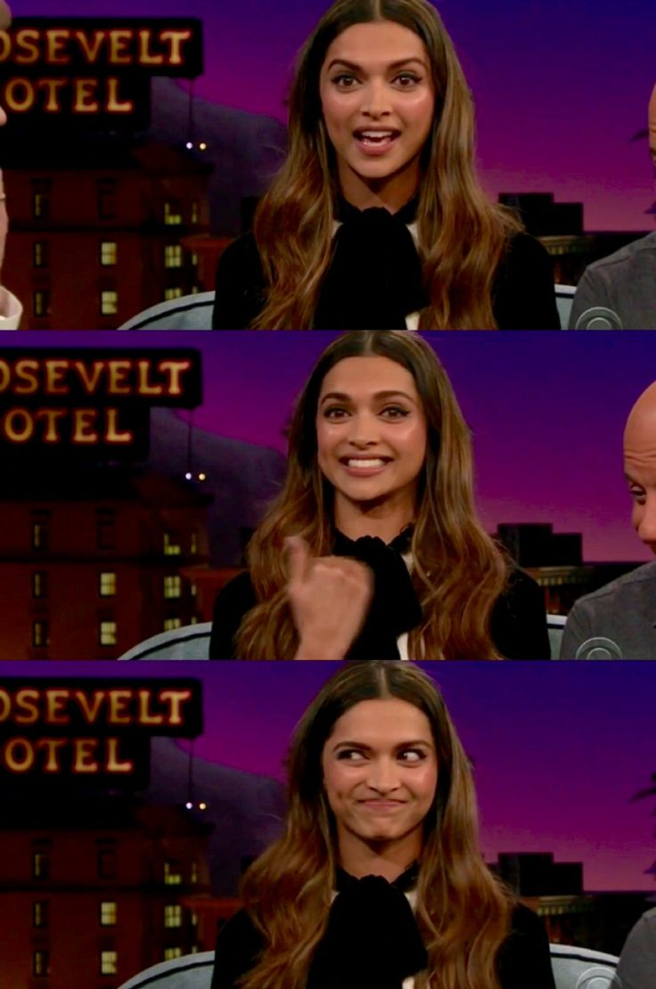 Deepika Padukone on The Late Late Show With James Corden