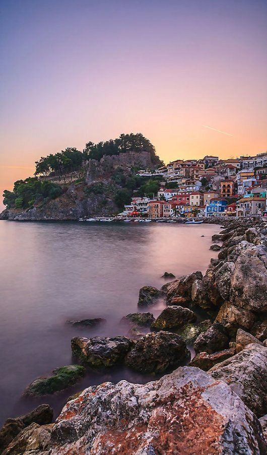 Parga sunset, Greece | by Stelios Kritikakis