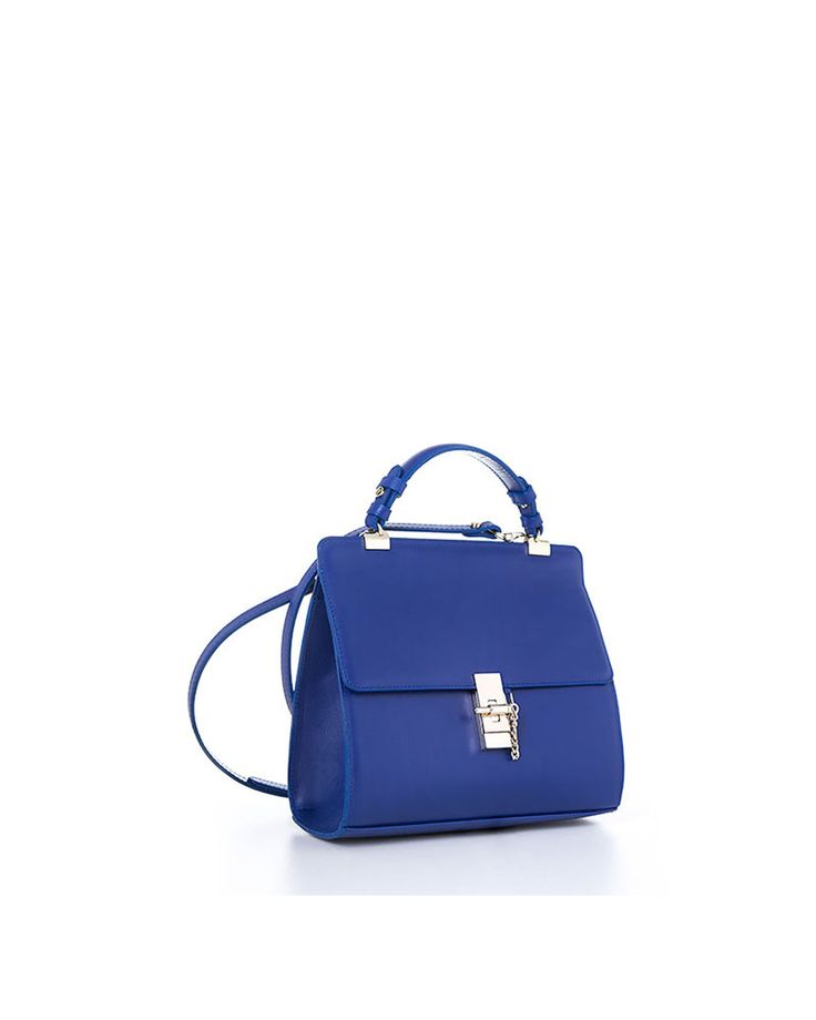 CN SHOULDER MINI BLUE BOX - YVY BAGS