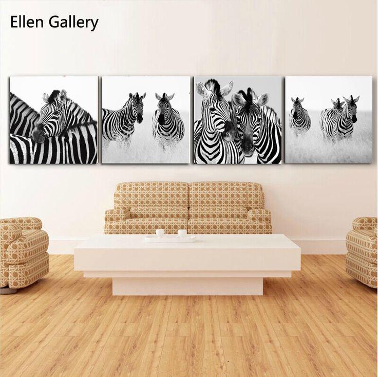 21 best pictures images on pinterest zebras metal tins for Decoracion de paredes modernas