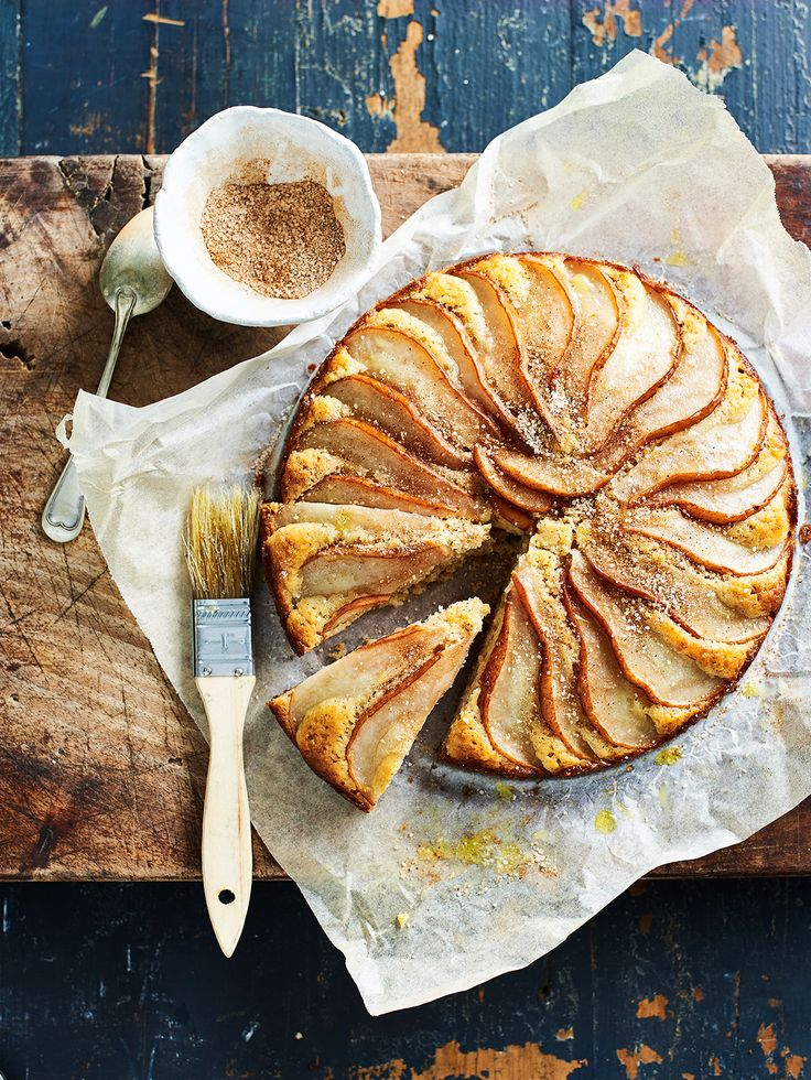 Pear tart.. my favorite way   with tarts..