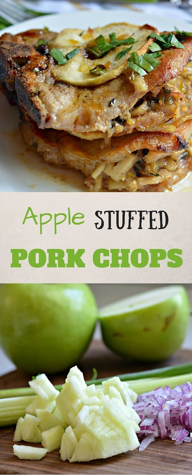 Best 25+ Apple stuffed pork chops ideas on Pinterest