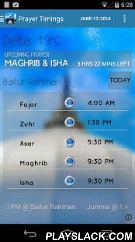 AMJ BC  Android App - playslack.com ,  Application that provides Namaz timings and Events schedule for Baitur Rahman Vancouver, British Columbia.Application includes:. Prayer Timings. Events. Qibla Direction