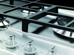 Smeg Linea design gas hob