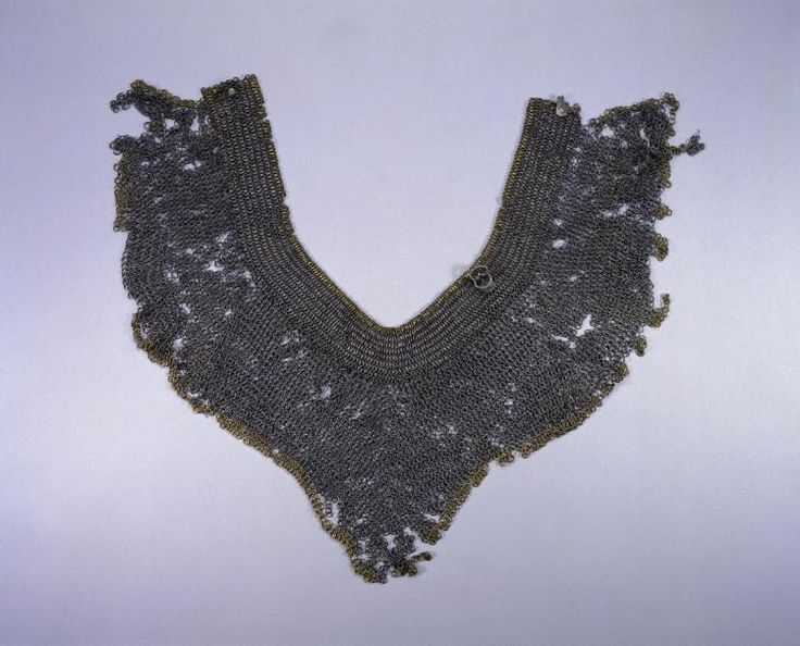 Collar, 1400s  European, 15th century  riveted steel rings, Diameter: w. 0.5 cm (3/16 in); Overall: w. 61.5 cm (24 3/16 in). Gift of Mr. and Mrs. John L. Severance 1916.1584, Cleveland Museum of Art