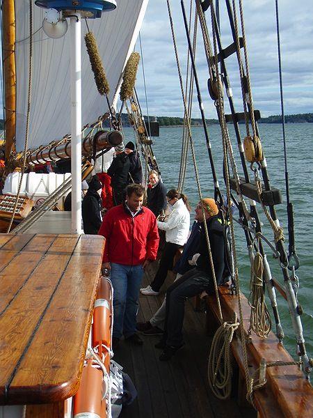 Galeasen Albanus, traditionell segling på Åland