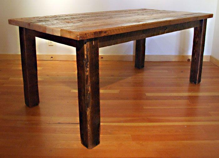 best DIY kitchen table  on Pinterest
