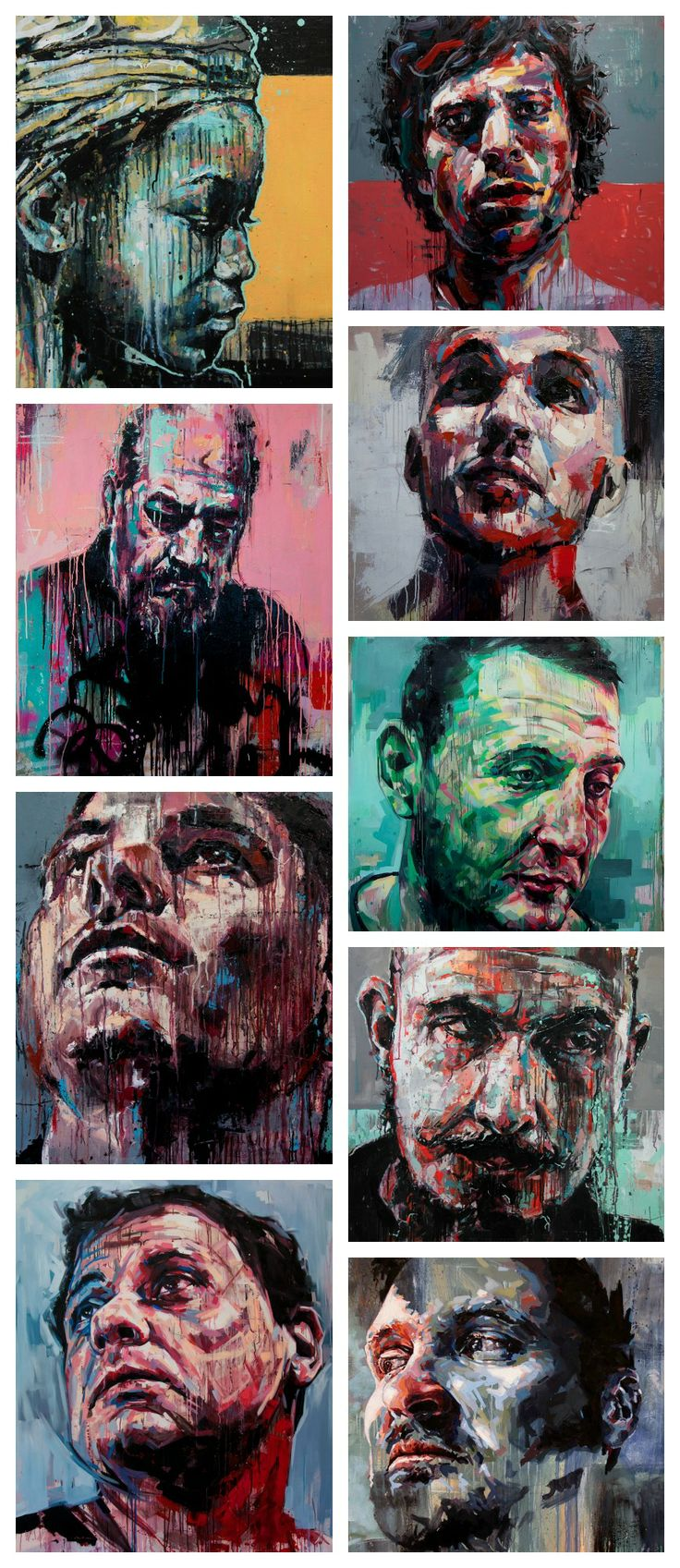 Joshua Miels is a contemporary portrait artist who looks to capture the vulnerability of people and the emotions that people try to hind from others. Spending countless hours adding layer upon layer of paint Joshua produces artworks that are not only striking but deep and powerful. Painted with predominantly oil paint, each piece start off with a subject, but with a large amount of experimentation, each art piece has its own journey on how its get from start to finish. see on…