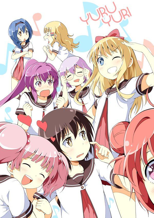 Anime Characters Named Yuri : Yuru yuri by nadras viantart on deviantart all