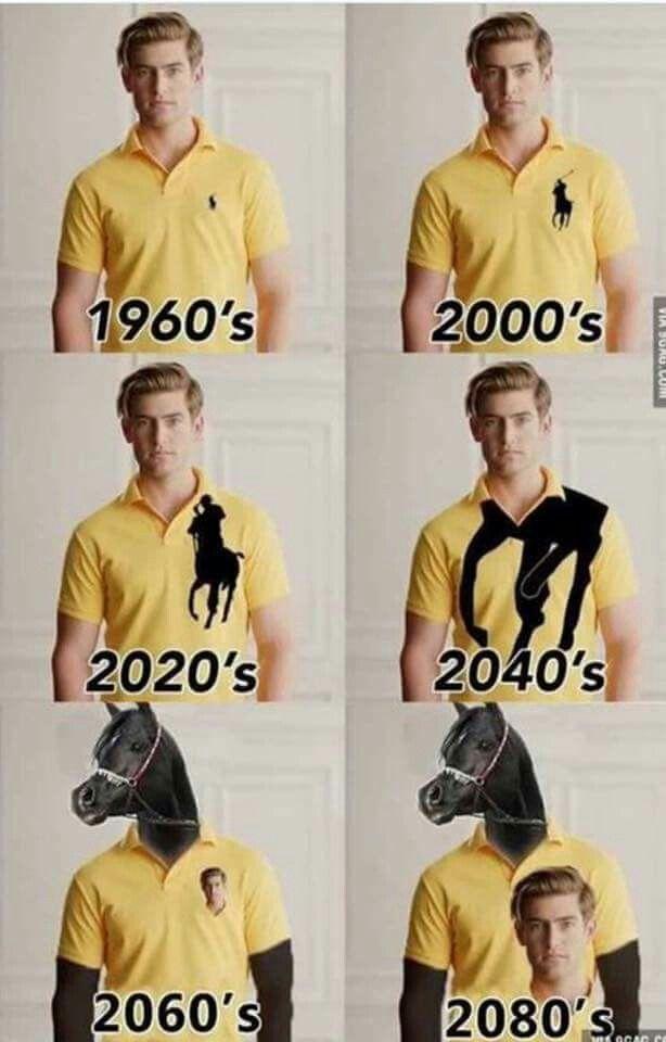 La evolución en una marca ...en el futuro los caballos van a tener una remera de nuestra marca
