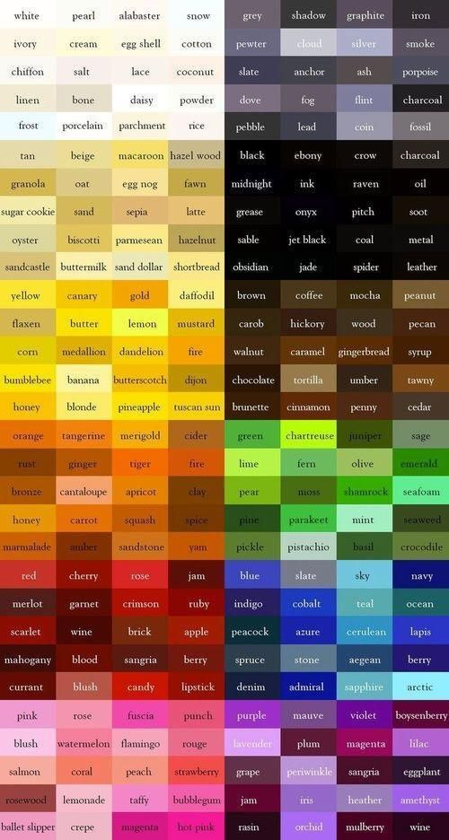 Color chart pic.twitter.com/ho1IgDP2r8