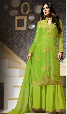 Pakistani Style Party Wear Stitched Dresses in Silk Fabric and Parrot Green #heenastyle , #salwar , #kameez , #suits , #anarkali , #party, #wear , #panjabi , #patiyala , #abaya , #style , #indian , #fashion , #designer , #bridel , #evening , #formal , #office , #deaily , #dupatta , #churidar , #palazo , #plazzo , #nerrow , #pant , #dress , #dresses , #fashion , #boutique , #mode , #henna , @heenastyle , #latest , #gowns , #pakistani , #readymade , #stitched , #plus , #size , #islamic