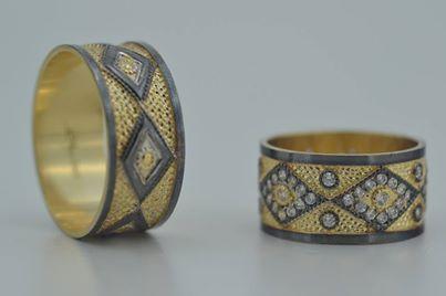 Özel Tasarım Altın Alyans Bay/Bayan