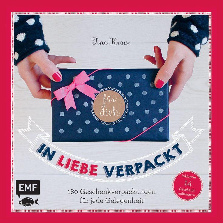 IN LIEBE VERPACKT - 101 Geschenkverpackungen für jede Gelegenheit, Herausgegeben von Tina Kraus, 128 Seiten, Hardcover inklusive 25 Geschenkanhänger, Format 23,0 x 23,0 cm, ISBN: 978-3-86355-245-9, Bestellnr.: 55245, 16,99€ (D) / 17,50€ (A), Bestellbar unter http://www.edition-m-fischer.de/index.php?id=20&tx_ttproducts_pi1[cat]=50&tx_ttproducts_pi1[backPID]=20&tx_ttproducts_pi1[product]=617&cHash=e5ff9a9292