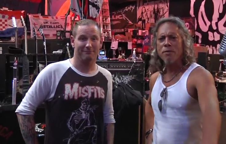 Corey Taylor interviews Metallica