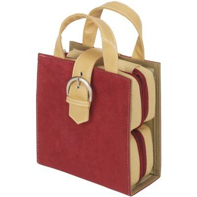 Thermoweb Embellishment Tote CrimsonTan Micro Suede -- Check out the image by visiting the link.
